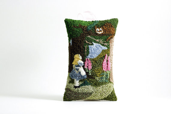 Alice in Wonderland Hanging Sachet